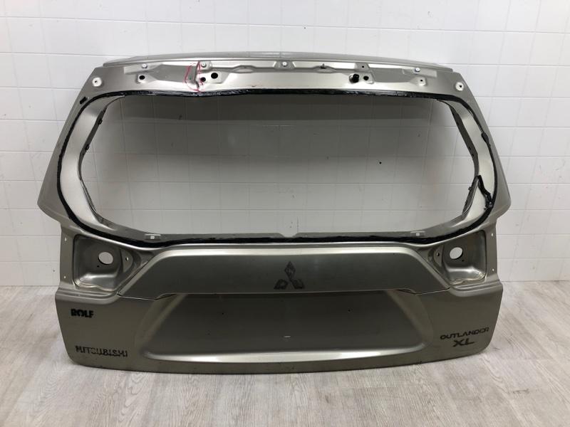 Крышка багажника Mitsubishi Outlander Xl CW1W 2007 задняя (б/у)