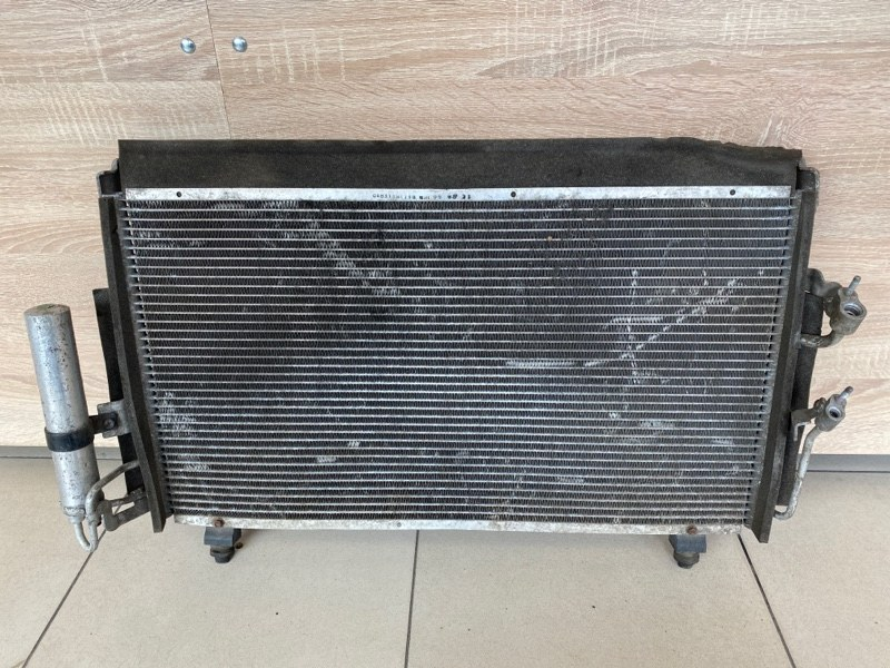 Радиатор кондиционера Mitsubishi Outlander 1 CU2W 4G63 2003 2004 2005 2006 2007 2008 (б/у)