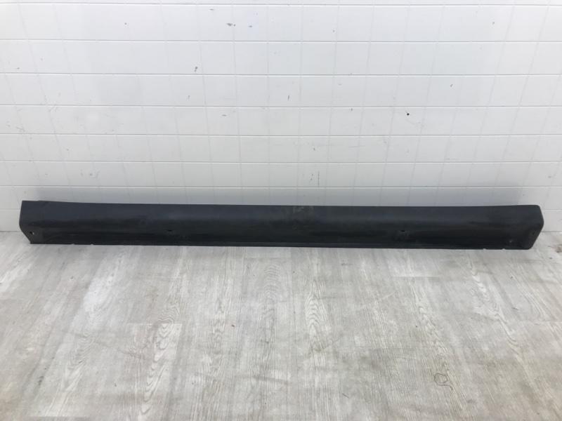 Накладка на порог Mitsubishi Outlander 3 GF2W 4B10 передняя правая (б/у)