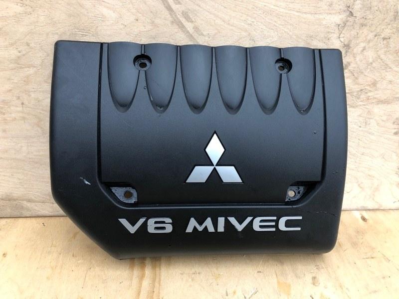 Крышка двигателя Mitsubishi Outlander Xl CW1W 4B11 2006 2007 2008 2009 2010 2011 2012 передняя (б/у)