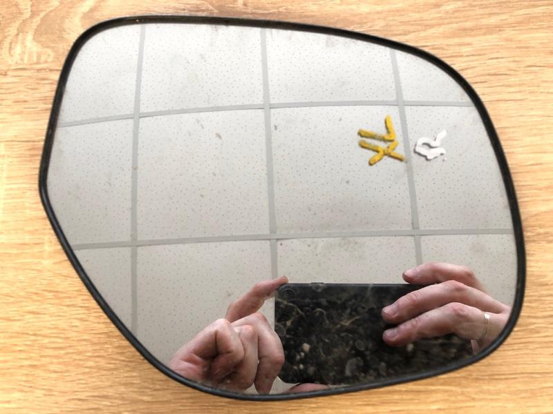 Зеркальный элемент Mitsubishi Outlander Xl CW1W 4B11 2010 2011 2012 правый (б/у)