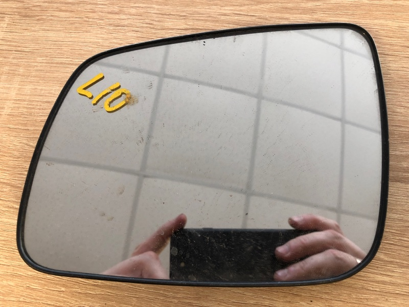 Зеркальный элемент Mitsubishi Lancer 10 CY1A 4A91 2007 левый (б/у)