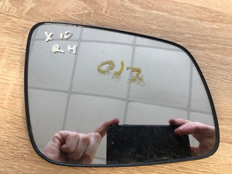Зеркальный элемент Mitsubishi Lancer 10 CY1A 4A91 2007 правый (б/у)