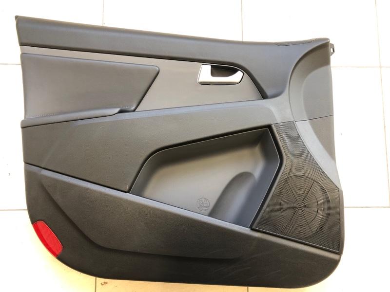Обшивка двери Kia Sportage 2013 передняя левая (б/у)