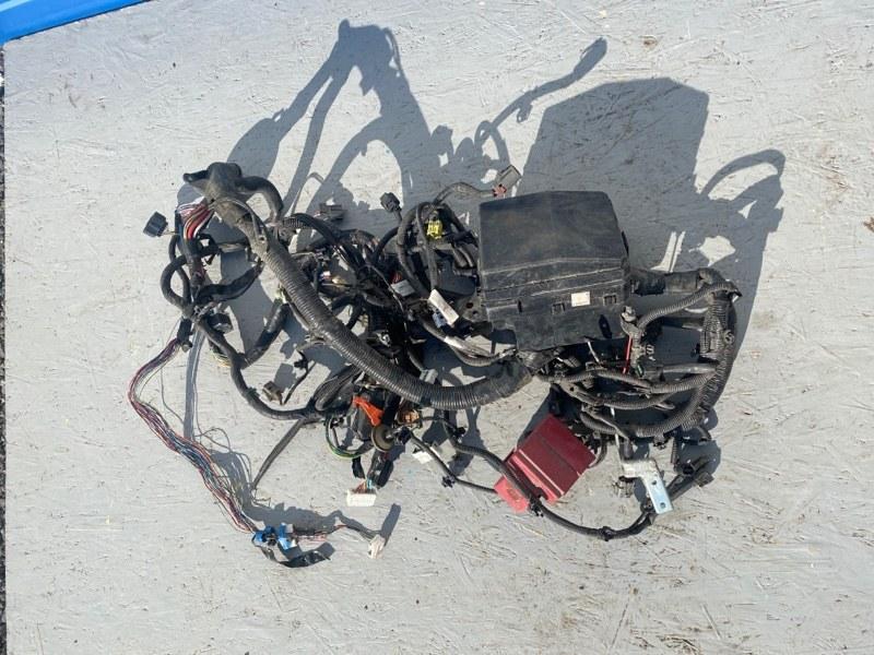 Проводка двигателя Mitsubishi Lancer 10 CY4A 4B11 2007 (б/у)