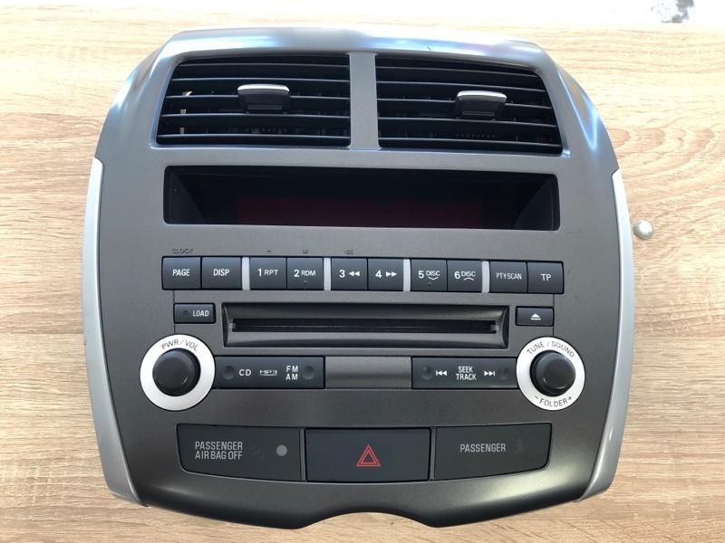 Магнитола Mitsubishi Asx GA1W 4B10 2010 (б/у)