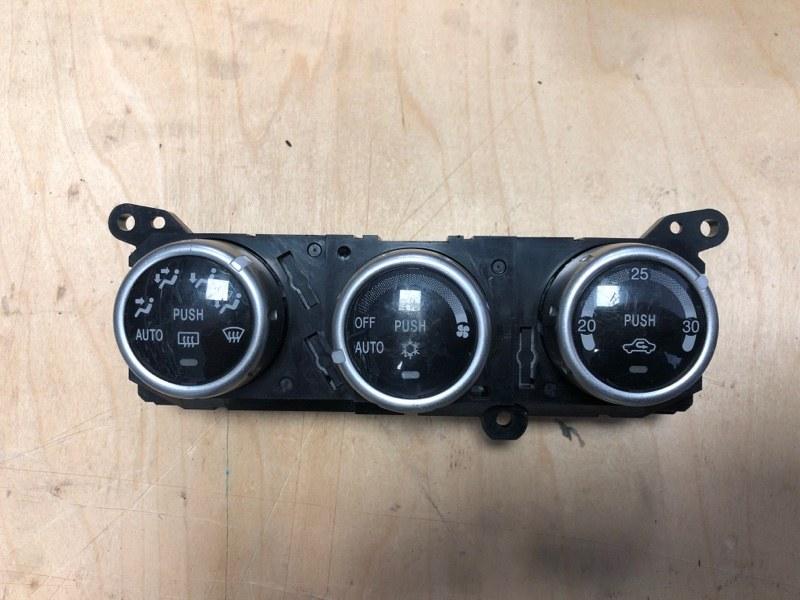 Блок управления климат-контролем Mitsubishi Pajero Sport 2 KH4W 4D56 2008 2009 2010 2011 2012 2013 2014 2015 (б/у)