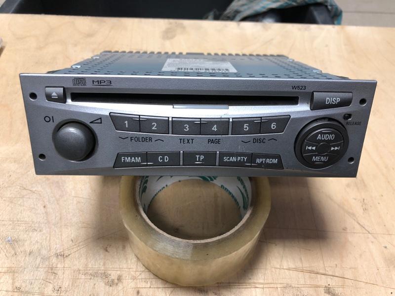 Магнитола Mitsubishi Pajero Sport 2 KH4W 4D56 2008 2009 2010 2011 2012 2013 2014 2015 (б/у)