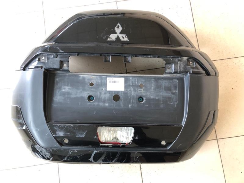 Накладка колпака запасного колеса Mitsubishi Pajero 4 V87W 6G72 (б/у)