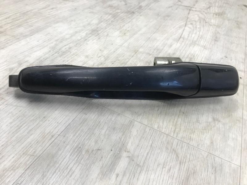 Ручка двери внешняя Mitsubishi Lancer 9 CS5A 4G94 2000 2001 2002 2003 2004 2005 2006 2007 2008 задняя левая (б/у)