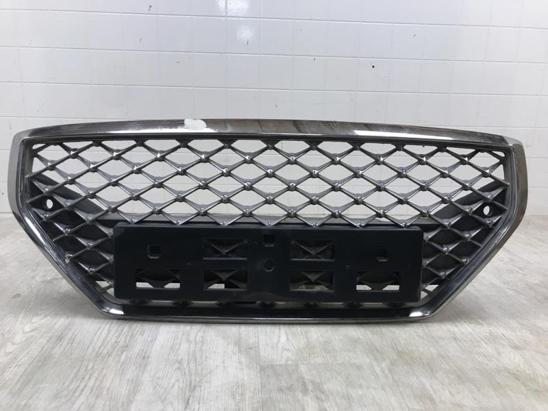 Решетка радиатора Hyundai Genesis G70 G4KL 2017 передняя (б/у)