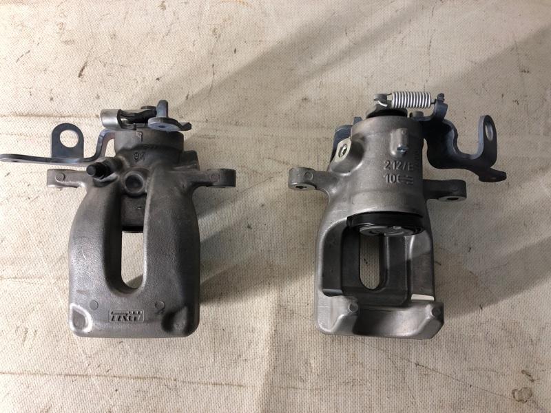 Суппорт тормозной Citroen Berlingo задний левый (б/у)