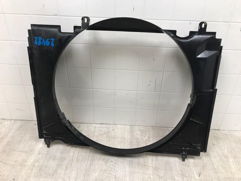 Диффузор радиатора двигателя Mazda Bt-50 2006 2007 2008 2009 2010 2011 2012 (б/у)