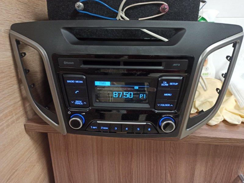 Магнитола Hyundai Creta M0 1.6 2016 2017 2018 2019 2020 (б/у)