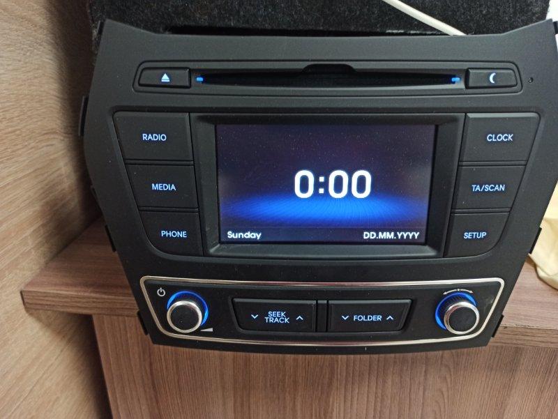Магнитола Hyundai Santa Fe 3 DM 2013 2014 2015 2016 2017 2018 (б/у)