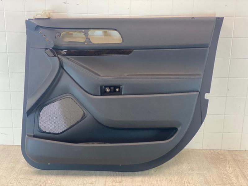 Обшивка двери Ford Explorer 5 TUB 2011 передняя правая (б/у)