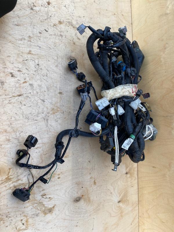 Проводка двигателя Mitsubishi L200 2005- KB4T 4D56U 2006 2007 2008 (б/у)