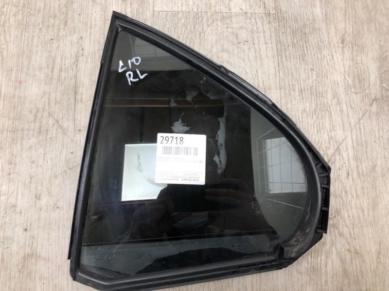 Стекло двери задней Mitsubishi Lancer 10 CY1A 4A91 2007 заднее левое (б/у)