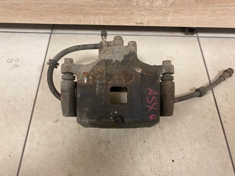 Суппорт тормозной Mitsubishi Asx CY1A 4A91 2007 передний правый (б/у)