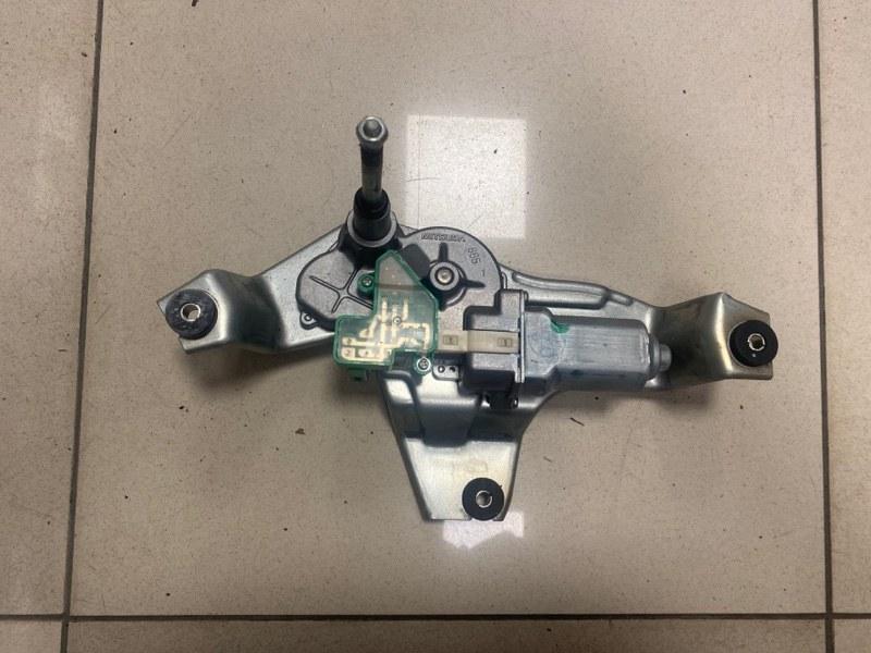 Мотор стеклоочистителя заднего Mitsubishi Outlander Xl CW1W 4B10 2007 задний (б/у)
