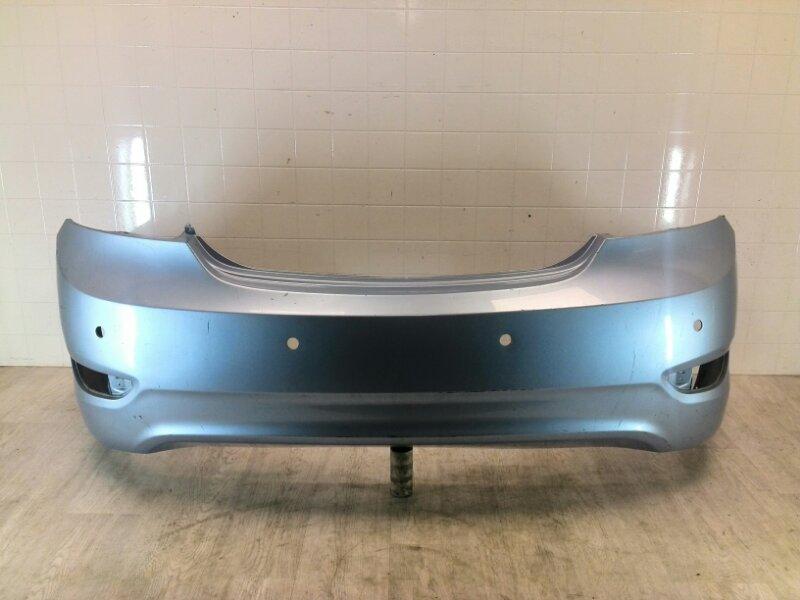 Бампер задний Hyundai Solaris 1 2011 2012 2013 2014 задний (б/у)