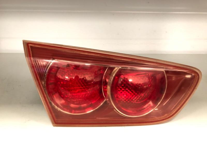 Фонарь в крышку багажника Mitsubishi Lancer 10 CY1A 4A91 2007 задний левый (б/у)