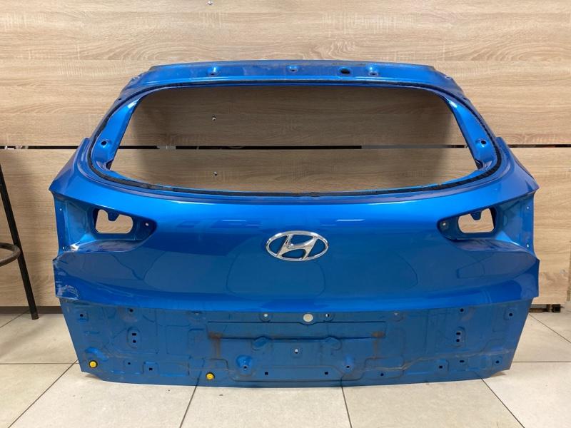 Крышка багажника Hyundai Tucson 3 D7 2.0TD 2015 задняя (б/у)