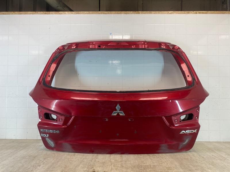 Крышка багажника Mitsubishi Asx GA1W 4B10 2010 задняя (б/у)