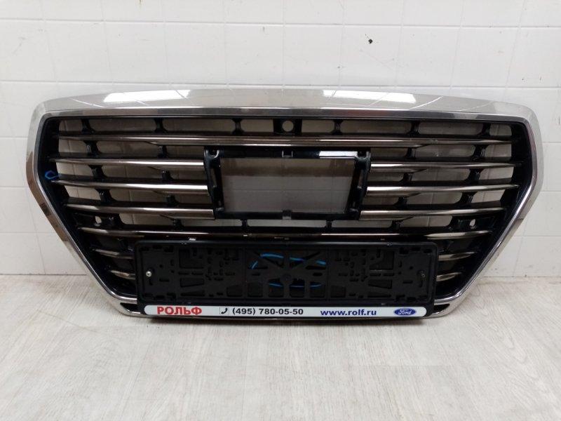 Решетка радиатора Hyundai Genesis G90 2016 передняя (б/у)