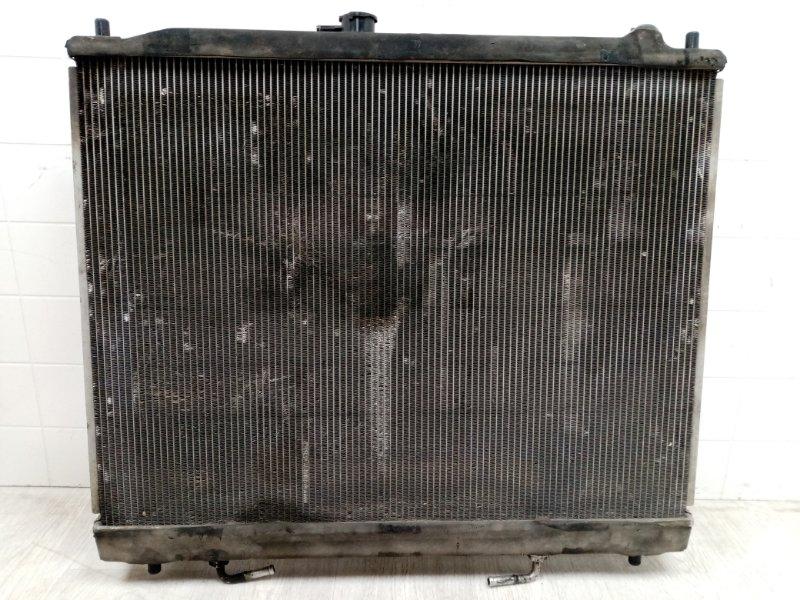 Радиатор двс Mitsubishi Pajero 4 V87W 4M41 2006 (б/у)