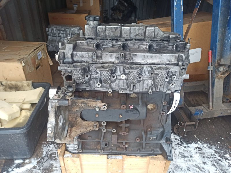 Двигатель Mitsubishi L200 2005- KB4T 4D56 2005 2006 2007 2008 2009 2010 2011 2012 2013 2014 2015 (б/у)