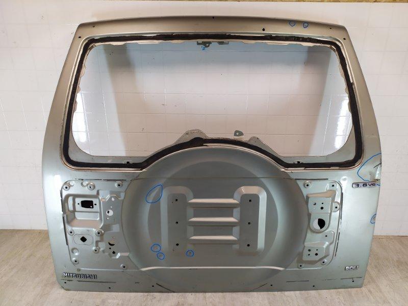 Крышка багажника Mitsubishi Pajero 4 V87W 4M41 2006 задняя (б/у)