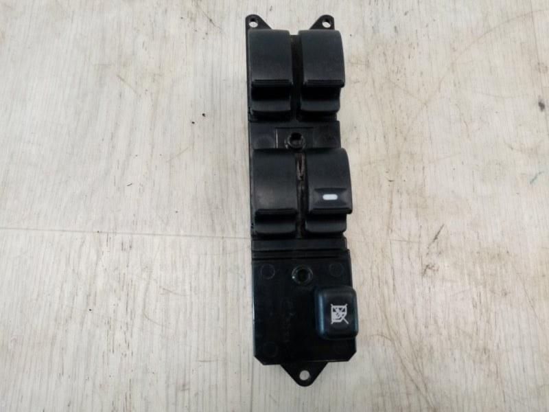 Блок управления стеклоподъемниками Mitsubishi Pajero Sport 2 KH4W 4D56 2008 передний левый (б/у)