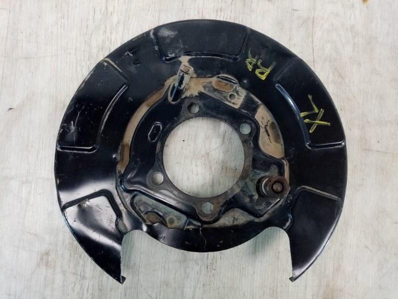 Пыльник тормозного диска Mitsubishi Outlander Xl CW1W 4B11 2007 задний правый (б/у)
