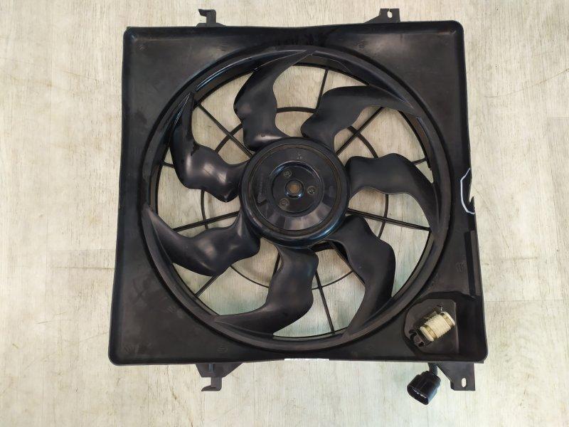Диффузор радиатора двигателя Hyundai Ix-35 2.0 2010 (б/у)