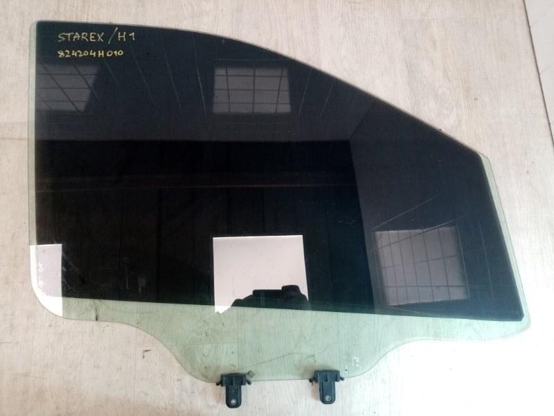 Стекло двери переднее Hyundai Starex H1 TQ D4CB 2007 переднее правое (б/у)