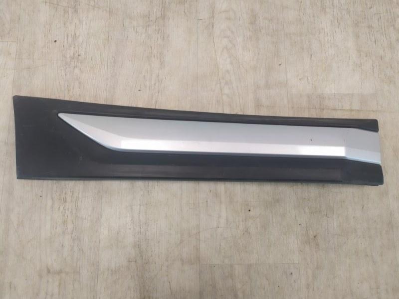 Молдинг на дверь Mitsubishi Outlander 3 GF2W 4B10 2015 задний правый (б/у)