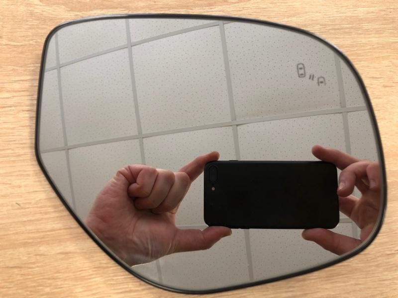 Зеркальный элемент Mitsubishi Outlander 3 GF2W 4B10 2012 правый (б/у)
