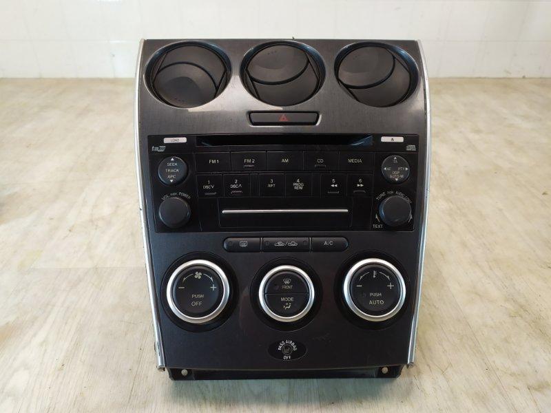 Рамка магнитолы Mazda Mazda 6 GG 2002 2003 2004 2005 2006 2007 (б/у)