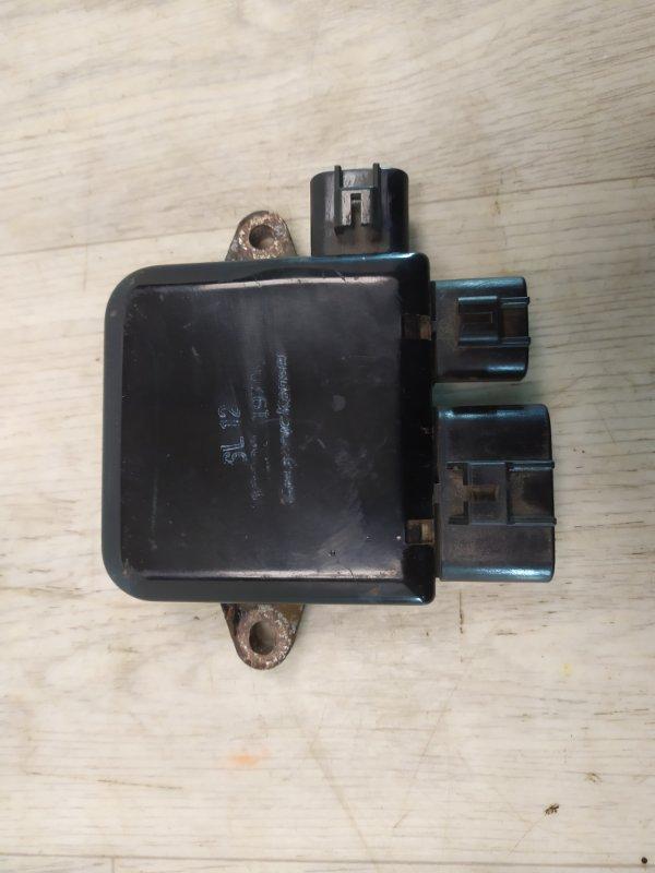 Блок управления вентилятором Mitsubishi Lancer 9 CS1A 4G13 2000 2001 2002 2003 2004 2005 2006 2007 2008 2009 2010 (б/у)