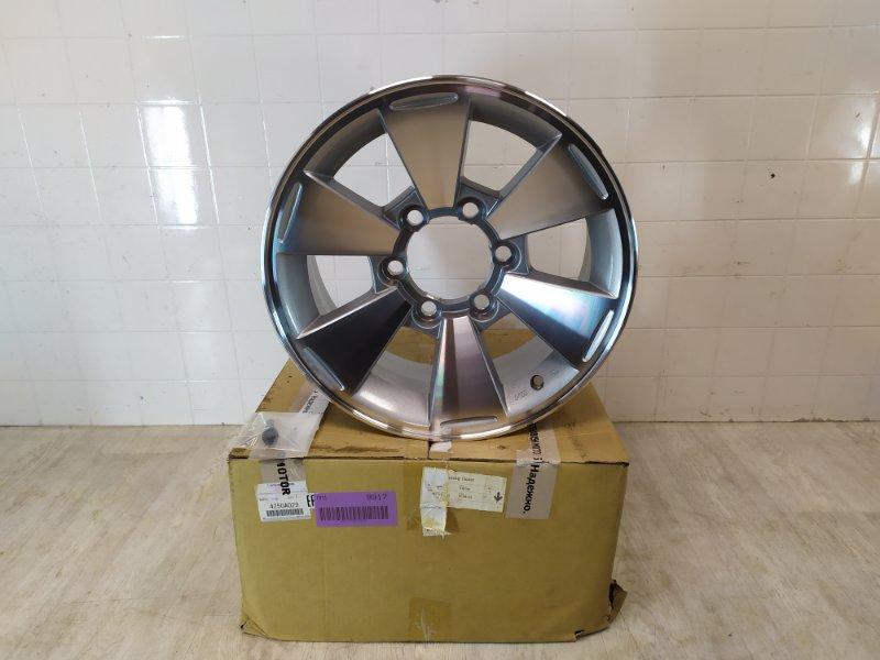 Диск колесный литой Mitsubishi Pajero Sport 1 K90 1998