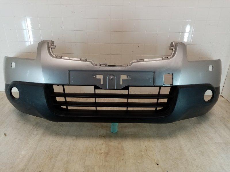 Бампер передний Nissan Qashqai J10 HR16DE 2006 передний (б/у)