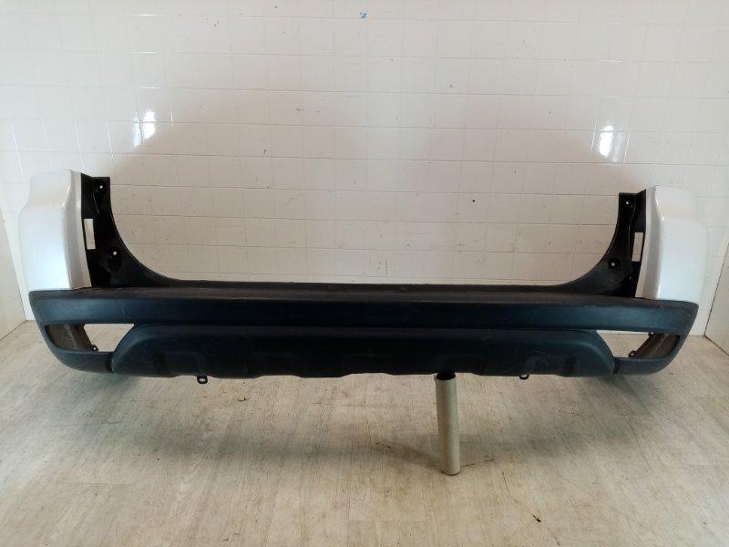 Бампер задний Mitsubishi Pajero Sport 2 KH4W 4D56 2008 2009 2010 2011 2012 2013 2014 2015 задний (б/у)