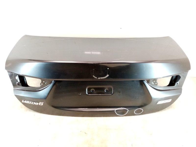 Крышка багажника Mazda Mazda 6 GJ 2.0 2012 2013 2014 2015 2016 задняя (б/у)