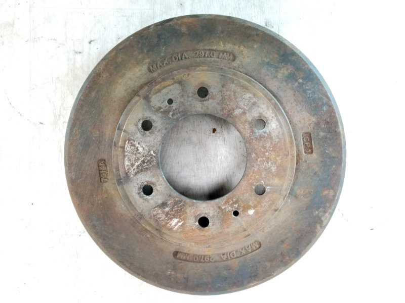 Тормозной барабан Mitsubishi Pajero Sport 2 KH4W 4D56 2008 2009 2010 2011 2012 2013 2014 2015 (б/у)