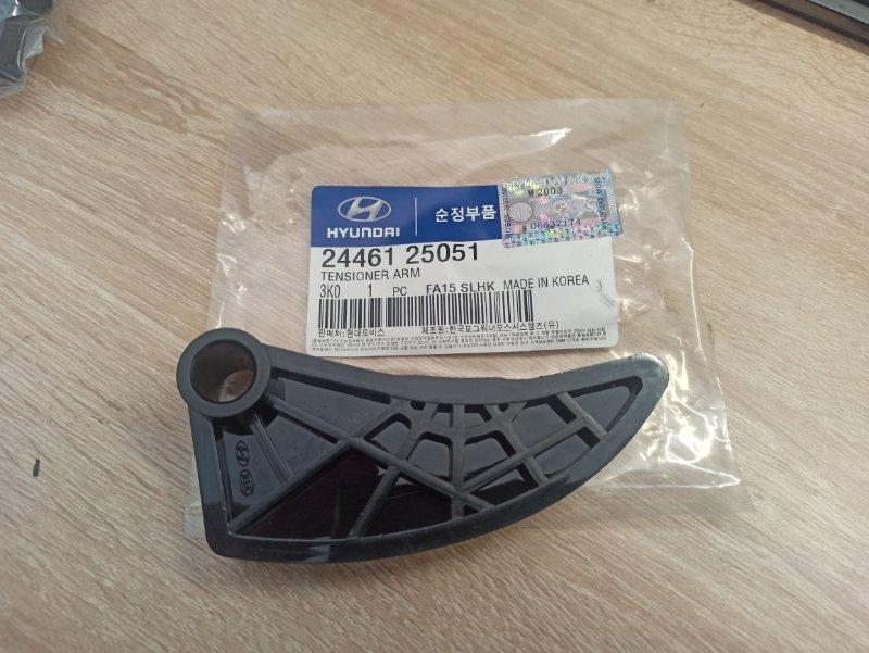 Натяжитель цепи масляного насоса Hyundai Sportage G4KD 2010