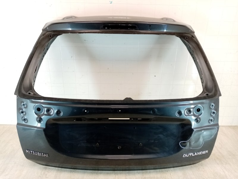 Крышка багажника Mitsubishi Outlander 3 GF2W 4B10 2015 2016 2017 2018 2019 2020 задняя (б/у)