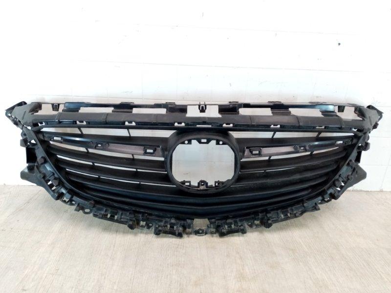 Решетка радиатора Mazda Mazda 6 GJ 1.8 2013 (б/у)