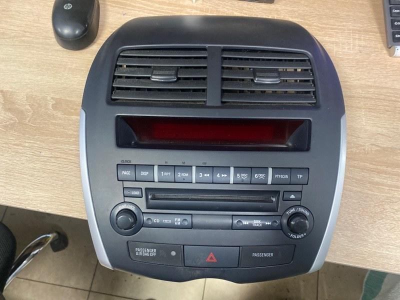 Рамка магнитолы Mitsubishi Asx GA 4B10 2012 (б/у)