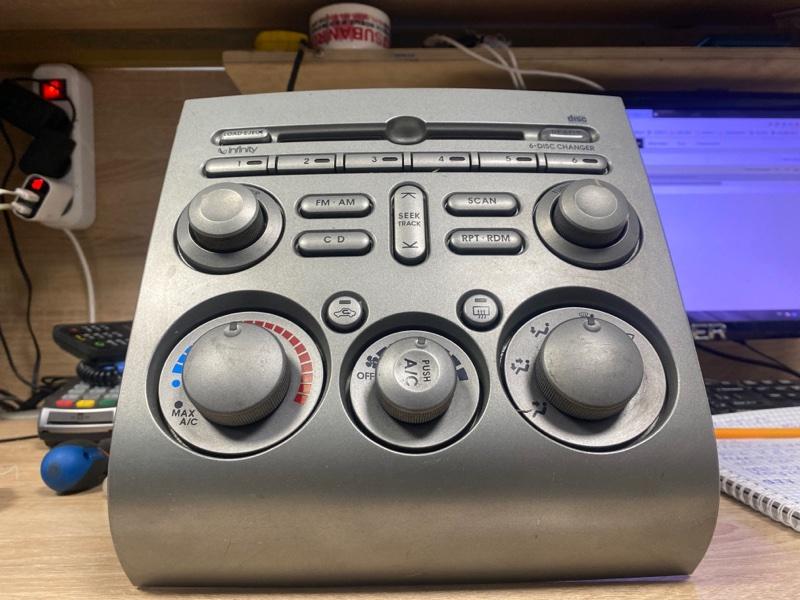 Блок управления климат-контролем Mitsubishi Galant DJ 2003 2004 2005 2006 передний (б/у)